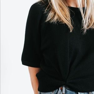 T by Alexander Wang Double Layered Pullover